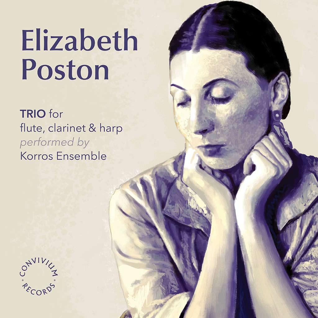 Elizabeth Poston: TRIO for Flute, Clarinet and Harp